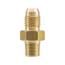 Copper Fitting M10 x 1.0 to AN-4 Male Thread for Turbo Engine