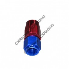 AN 6  AN6 6AN Straight Swivel Oil/Fuel Hose End Aluminum Oil Fitting