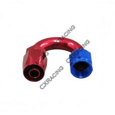 AN 6 AN6 6AN 180 Degree U Reusable Hose End Anodized Aluminum Oil Fitting