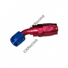 AN 10 AN10 10AN 45 Degree Swivel Oil/Fuel Hose End Aluminum Oil Fitting