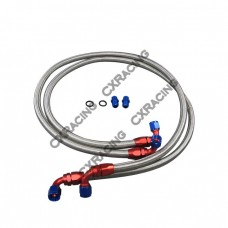 Oil Line + Fitting Upgrade Kit For Mitsubishi 3000GT GTO Stealth Turbo