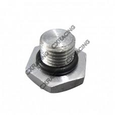 Turbo Water Fitting Cap Block For Nissan SR20DET, RB20/25DET RB26DETT 240SX Skyline S13 S14