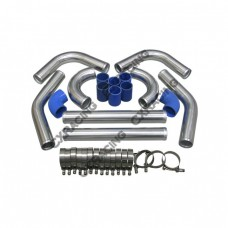 """2.75"""" UNIVERSAL TURBO INTERCOOLER PIPING KIT WITH PIPE 120 DEGREE"""