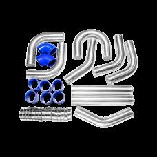 """3"""" Intercooler piping kit 9pcs Free U Pipe"""
