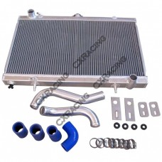 Radiator Hard Pipe Kit For 1JZGTE 2JZGTE Engine 83-88 Toyota Truck Hilux Swa