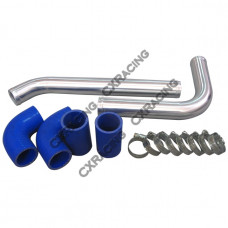 "1.5"" Radiator Hard Pipe Kit For 1986-1992 Toyota Supra MK3 2JZ-GTE Swap"