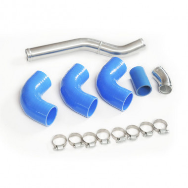 "1.5"" Aluminum Radiator Piping Kit for BMW E36 with LS1/LSx Swap"