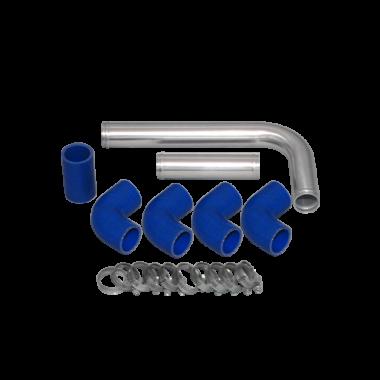 "1.5"" Aluminum Radiator Hard Pipe For LS1 Motor 95-04 Toyota Tacoma Truck LSx"