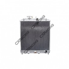 "Aluminum Radiator For 92-00 Honda Civic DEL SOL B16 B18 B Series 13.5""x16.5""x2"", 1.25"" Inlet"