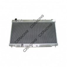 "Aluminum Radiator For 1G 90-94 Turbo 4G63 Eclipse Talon, Core: 26""x13""x2"", 1.4"" Inlet & Outlet"