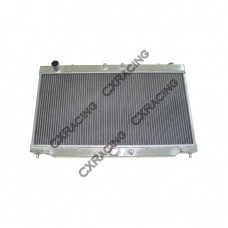 "Aluminum Radiator For 2G 95-99 Turbo 4G63 Eclipse Talon, Core: 26""x13""x2"", 1.4"" Inlet & Outlet"