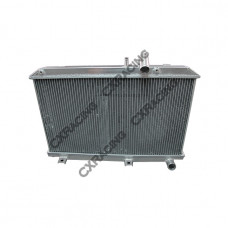 2 Rows Full Aluminum Cooling Radiator For 03-08 MAZDA RX8 Radiator Manual Transmission