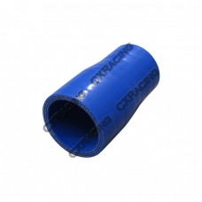 """1.5"""" to 1.3"""" 76mm Enforced Universal Blue Silicon Hose Reducer"""