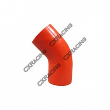 """2"""" 45 Deg Red Silicon Hose Coupler For Turbo Intercooler Pipe"""