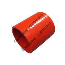 "2"" Straight Red Silicon Hose Coupler For Intercooler Pipe"