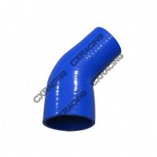 "2.25""-1.75"" 45 Deg Elbow Silicon Hose Reducer For Intercooler Pipe"