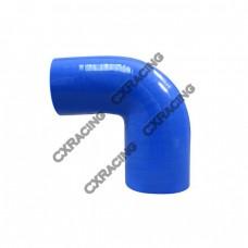 "2.25""-1.875"" 90 Deg Silicon Hose Coupler For Turbo Intercooler Pipe"