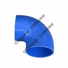 "2.5"" Silicone Hose 90 Degree Elbow Coupler 65mm Turbo Silicon Blue"
