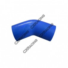 "2.5"" 45 Deg Blue Silicon Hose Coupler For Turbo Intercooler Pipe"