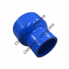 """2.5""""-1.75"""" Blue Straight Silicon Hose Reducer Coupler for Intercooler Pipe"""