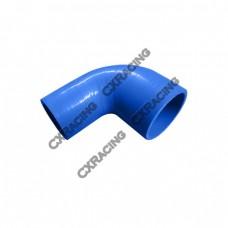 "2.5""-1.875"" 90 Deg Blue Silicon Hose Coupler For Turbo Intercooler Pipe"