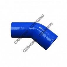 "2.5""-2.25"" 45 Deg Silicon Hose Reducer Intercooler Pipe"