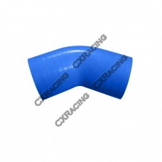 """2.75"""" 45 Degree Blue Silicon Hose Elbow Coupler For Turbo Intercooler Pipe"""
