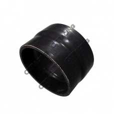 """2.75"""" - 2.63"""" Black Silicon Hose Reducer Coupler Straight Intercooler Pipe"""
