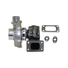 """T3 T04E Turbo Charger, .50 AR Compressor, .63 AR Turbine , 5 Bolt Exhuast, 3"""" Inlet & 2"""" Outlet"""